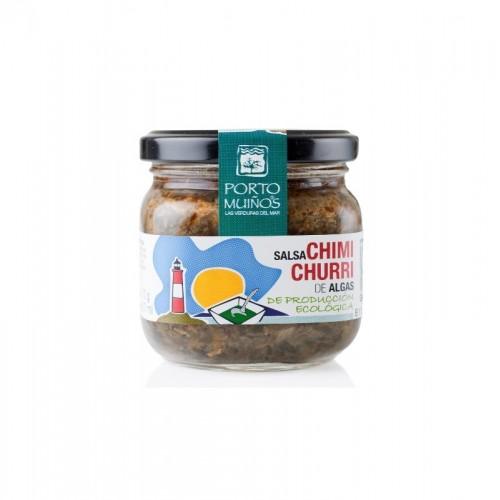 salsa chimichurri algas porto muiños bio