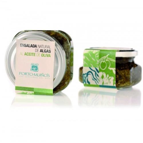 ensaladas algas aceite oliva porto muiños bio