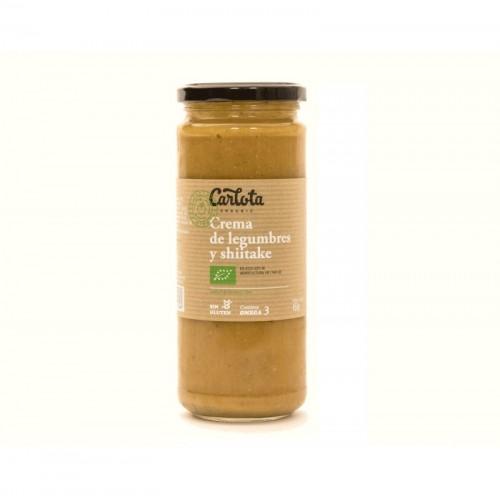 Crema legumbres shiitake...
