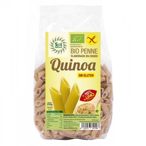 Macarron quinoa con lino...