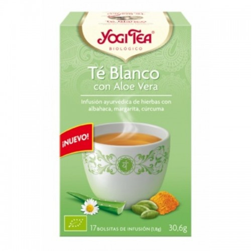 Yogi tea te blanco con aloe...