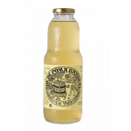 zumo manzana natural cal valls 1 l