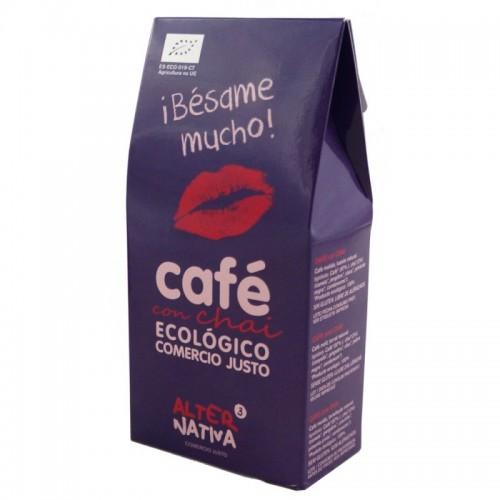 Cafe chai molido...