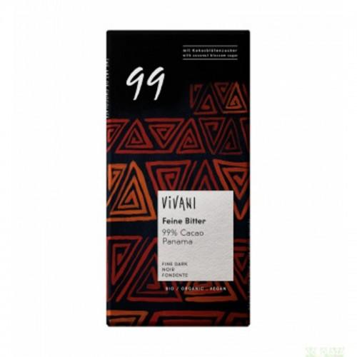 Chocolate negro 99 % VIVANI...