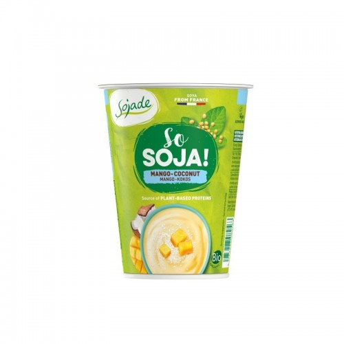 Yogur soja mango coco...