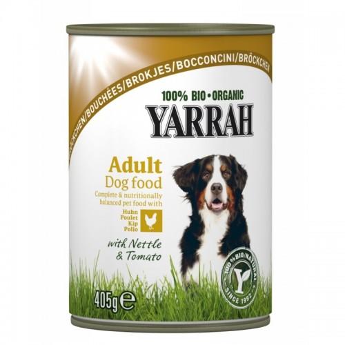 Lata perros pollo YARRAH...