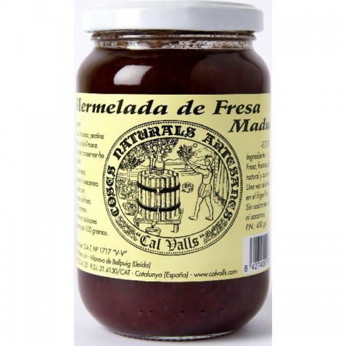 mermelada fresa artesana cal valls 400 gr