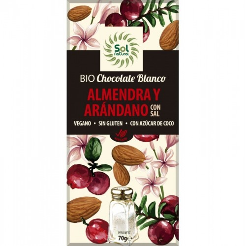 Chocolate blanco almendras...