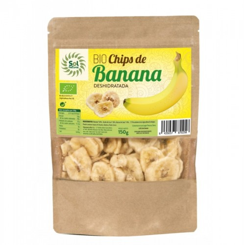 Chips banana SOL NATURAL...