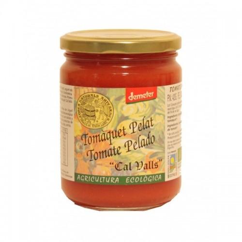 tomate entero pelado cal valls 420 gr eco