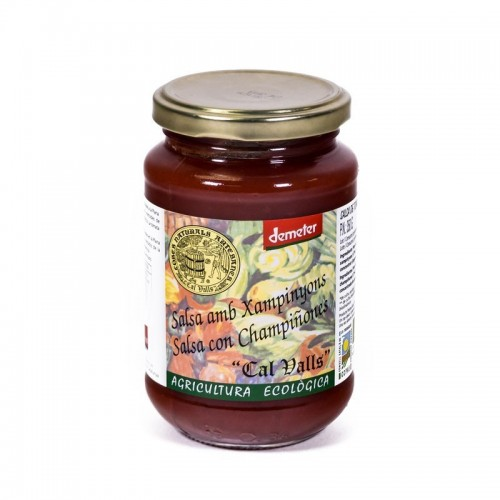 salsa tomate champiñon cal valls 350 gr eco
