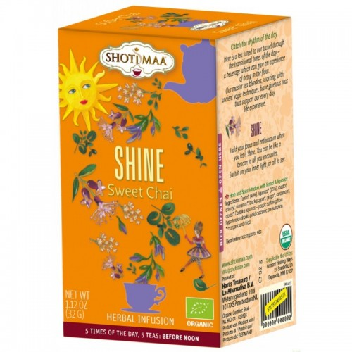 Shine SHOTIMAA 16 bolsas BIO