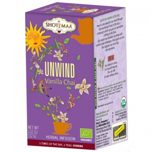 Unwind SHOTIMAA 16 bolsas BIO