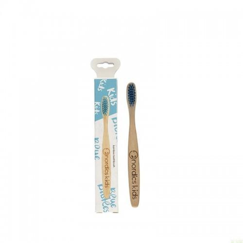Cepillo bambu niños azul...