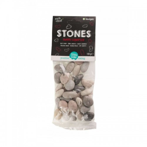 Regaliz dulce stones...