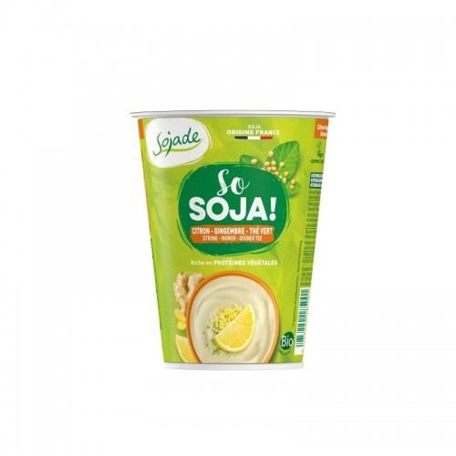 Yogur soja limon jengibre...