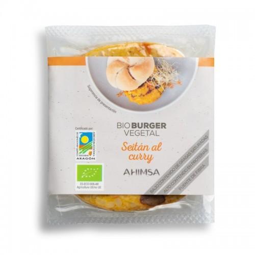 Hamburguesa seitan curry...