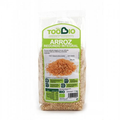 Arroz redondo integral TOO...