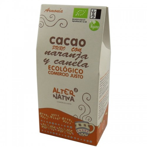 Cacao naranja canela...