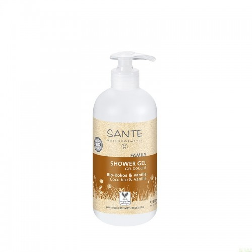 Gel coco vainilla SANTE 500 ml