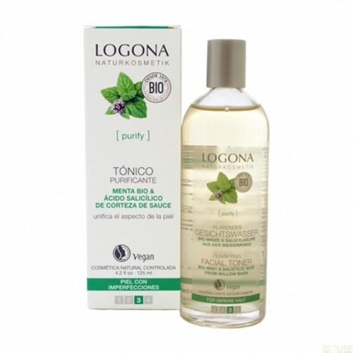 Tonico menta LOGONA 125 ml