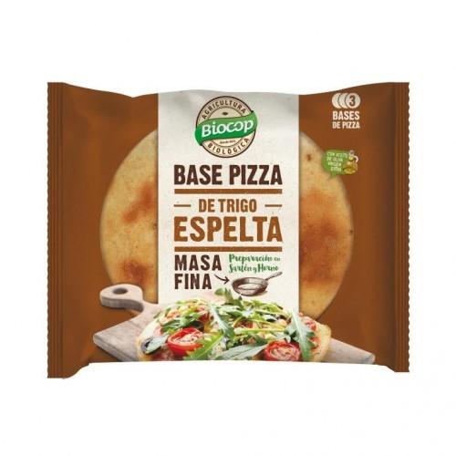 Base pizza espelta fina...