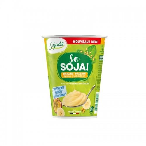 Yogur soja platano maracuya...