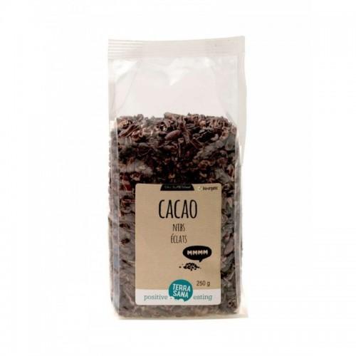 Cacao nibs TERRASANA 250 gr...