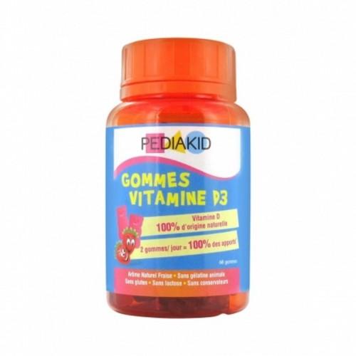 Gominolas vitamina D fresa...