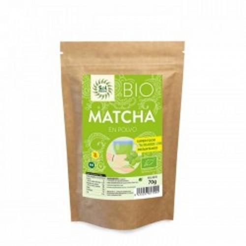 Matcha polvo SOL NATURAL 70 gr