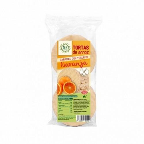 Tortas arroz yogur naranja...
