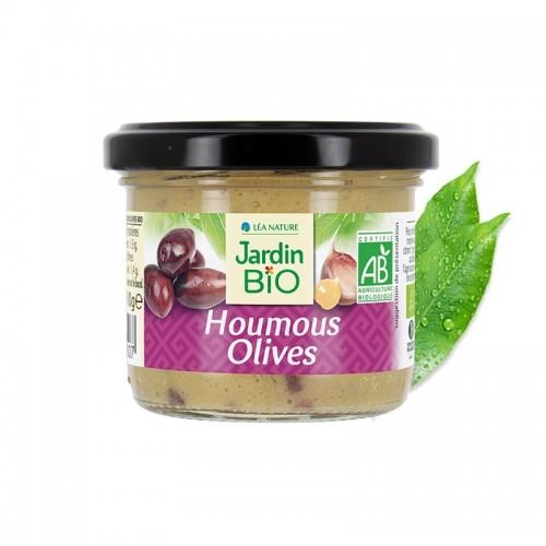 Hummus aceitunas JARDIN BIO...