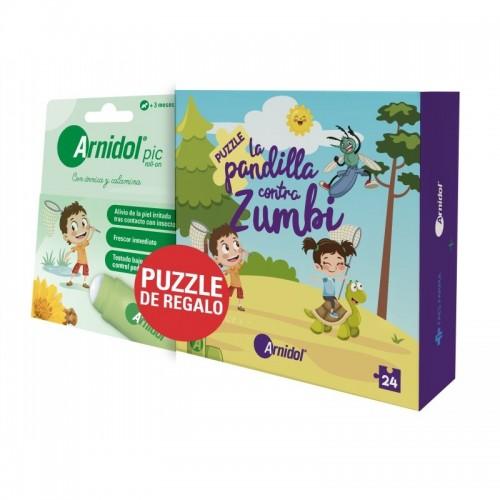 Stick pic + puzzle ARNIDOL...