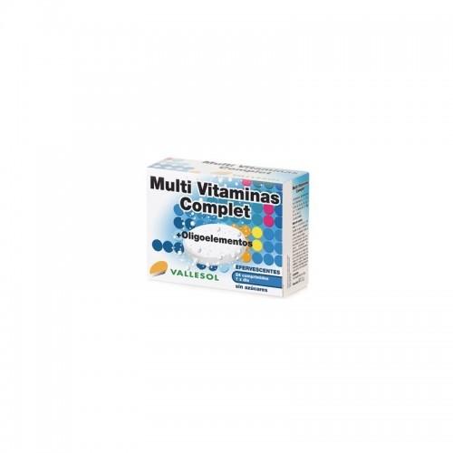 multivitamina y oligoelementos efervescentes vallesol 24 capsulas