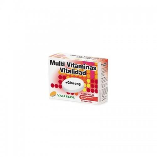 multivitaminas y ginseng masticable vallesol