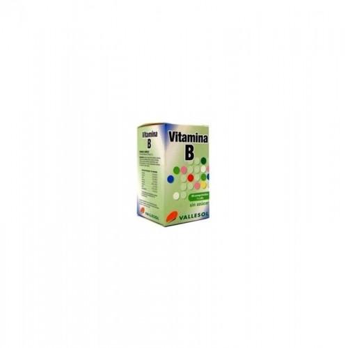 vallesol vitamina b complex vallesol 30 comprimidos