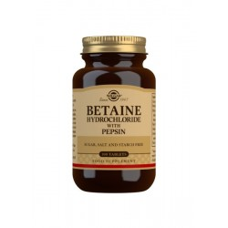 Betaina Clorhidrato pepsina...