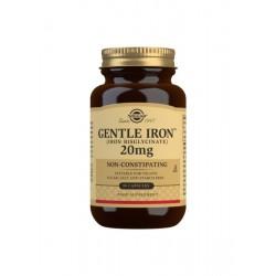 Hierro gentle 20 mg SOLGAR...
