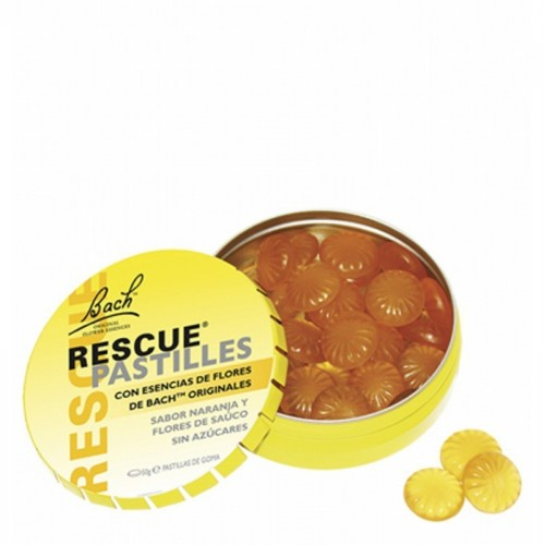 caramelos rescue naranja flores de bach 50 gr