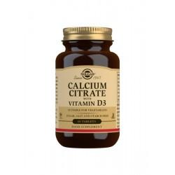 Calcium citrate SOLGAR 60...