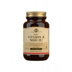 Vitamina A 5000 IU SOLGAR...