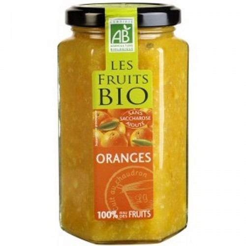 mermelada naranja 100 fruta destination 300 gr bio