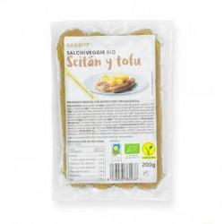 Salchicha tofu seitan...